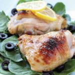 Cytrynowy kurczak po grecku